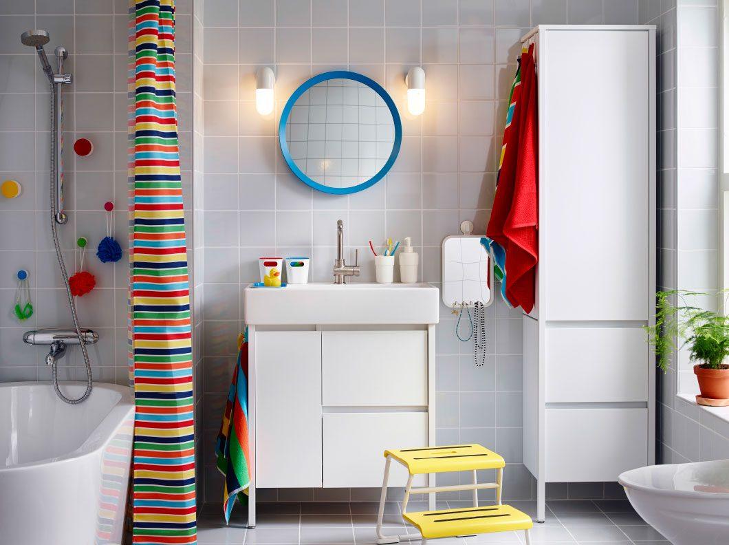 Ba o con decoraci n de estilo n rdico im genes y fotos for Banos estilos y decoracion