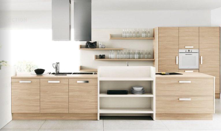 Cocinas Madera Clara - Diseños Arquitectónicos - Mimasku.com
