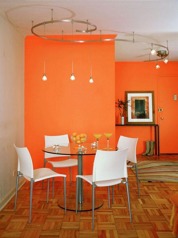 Galer a de im genes decoraci n en color naranja for Decoracion hogar naranja