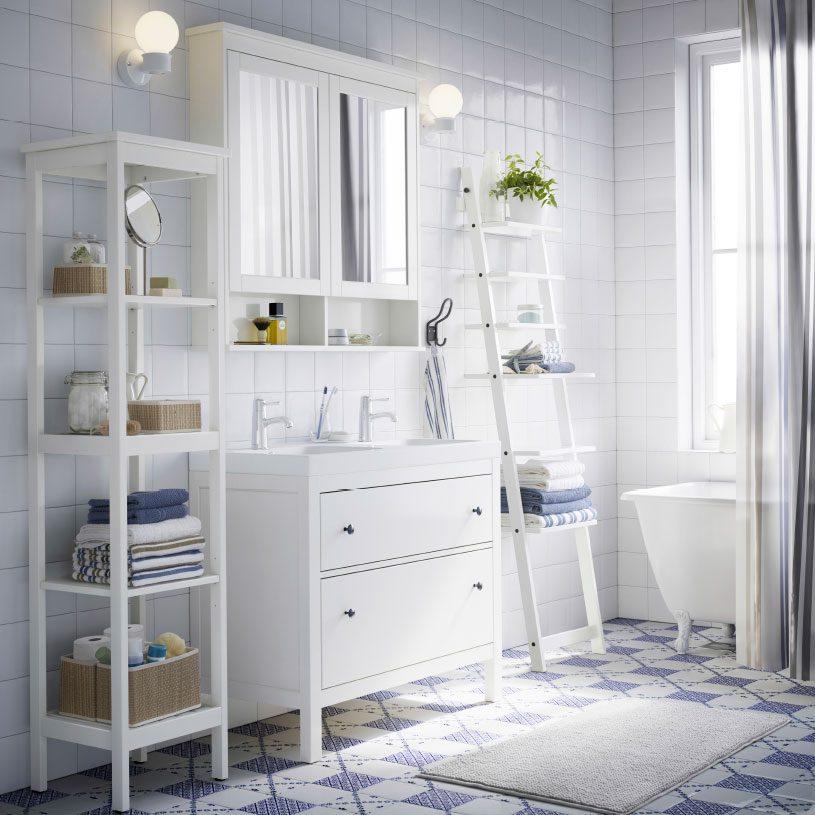 Cuarto de baño de estilo nórdico :: Imágenes y fotos