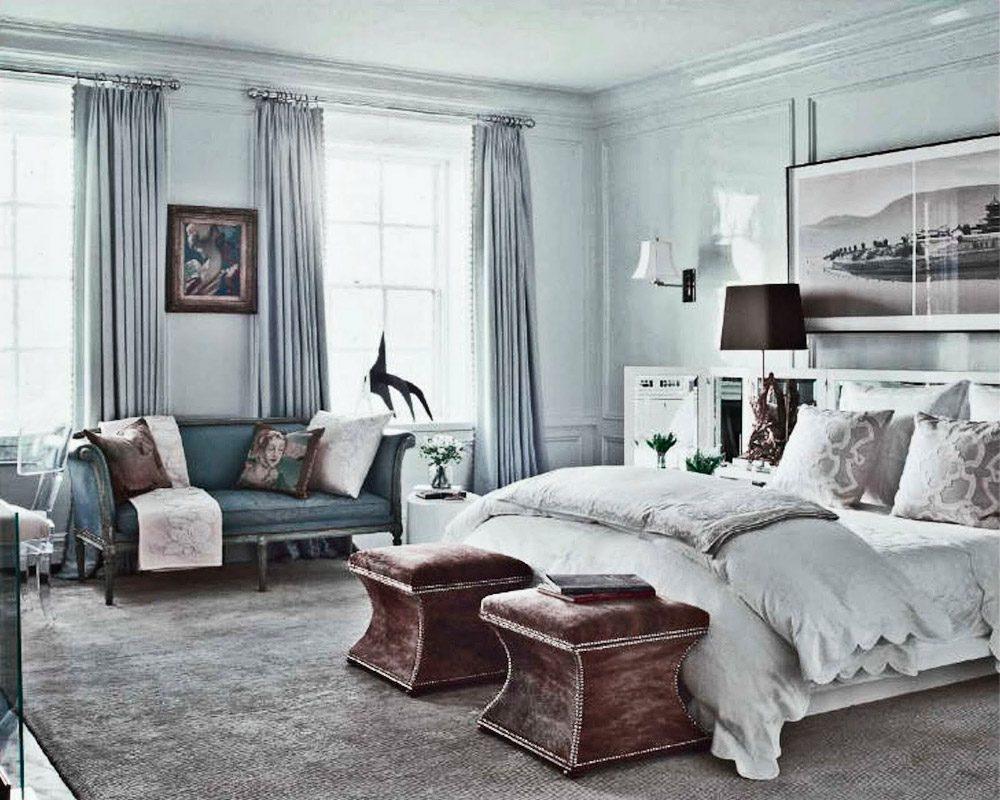 Galer a de im genes decoraci n en color gris for Decoracion dormitorio gris