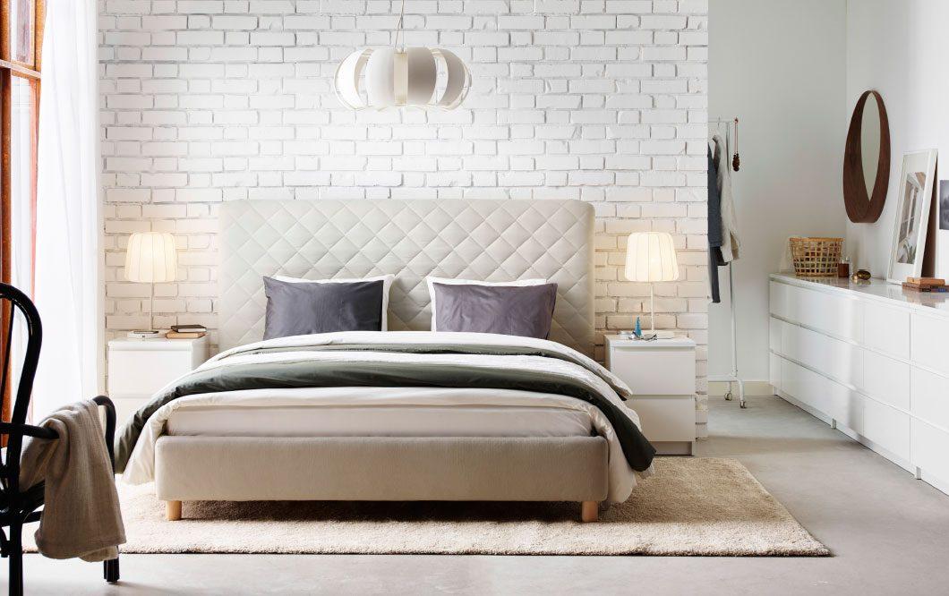 Im genes y fotos de decoutil for Dormitorio estilo nordico ikea