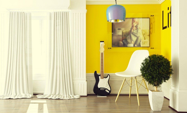 Galer a de im genes decoraci n en color amarillo - Habitaciones amarillas ...