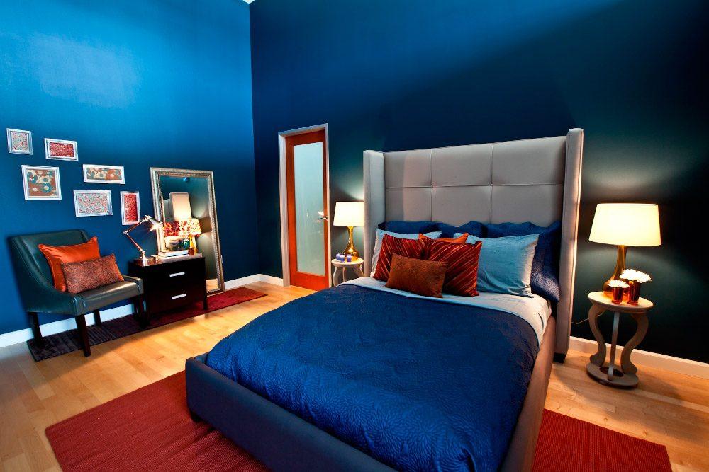 habitaciones azules im genes y fotos