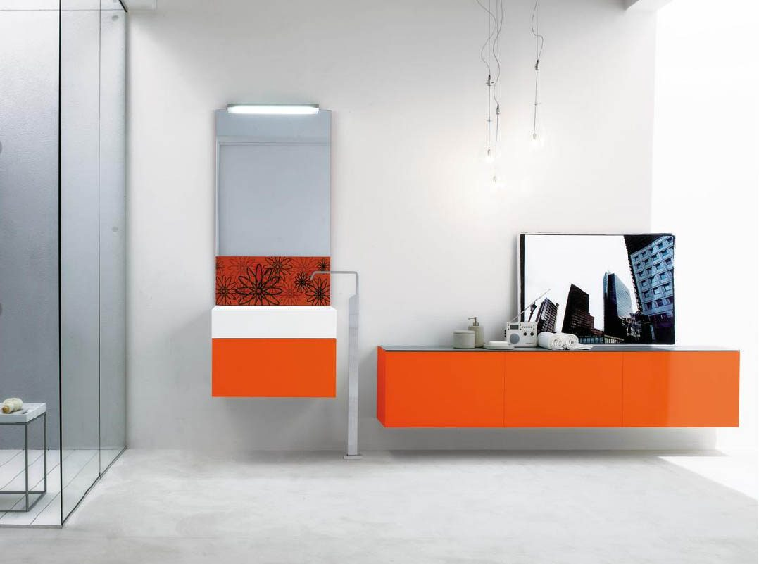 Muebles De Bano Naranja.Muebles De Bano Naranjas Imagenes Y Fotos