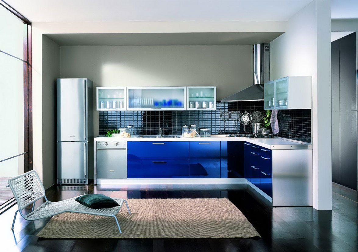 Muebles Baño Ambiente Azul:Muebles de cocina azules :: Imágenes y fotos