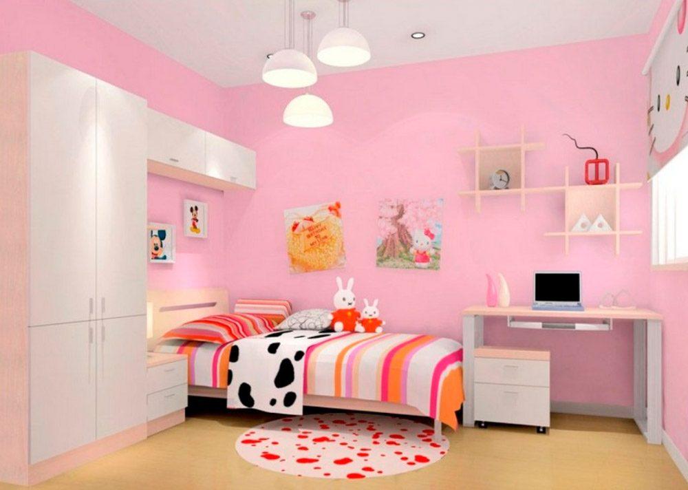 Galer a de im genes colores para paredes for Recamaras rosas