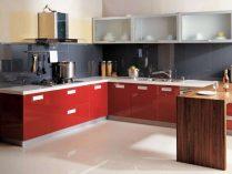 Muebles de cocina rojos :: Imágenes y fotos