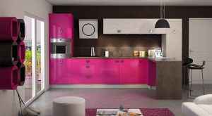 Decoración en color rosa